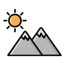 Nature Adventure Camp Icon