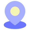Location Pin Navigation Travel Icon