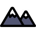 Mountain Side View Icon