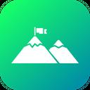 Mountain Side View Icon