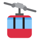 Mountain Cableway Cable Icon