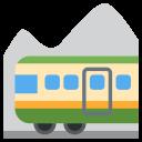 Mountain Railway Tourist Icon