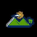 Nature Rock Hill Icon