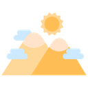 Nature Mountains Icon