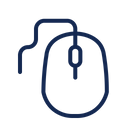 Mouse Computer Isolated Icon