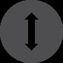 Move Vertical Icon