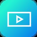 Movie Video File Icon