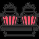 Muffin Dessert Cupcake Icon