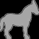Mules Donkey Animal Icon