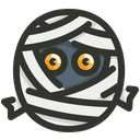 Mummy Ghost Halloween Icon
