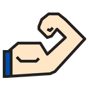 Muscle Sport Exercise Icon