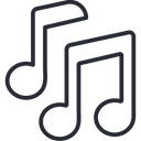Music Music Tunes Music Notes Icon