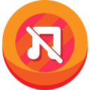 Music Off Icon