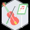 Music Class Kids Guitarist Music Training Icon