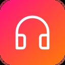 Music Headphone Song Icon