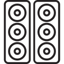 Music System Speaker Speaker Box Icon