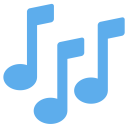 Musical Notes Tune Icon