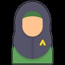 Muslim Hijab Woman Icon