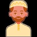 Muslim Man Avatar Man Icon