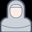 Muslimah Arab Hijab Icon