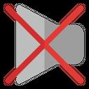 Mute Sound Audio Icon