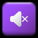 Mute Ui Button Icon