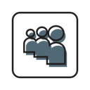 My Space Social Media Network Icon