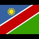 Namibia Flag Country Icon