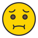 Nauseated Face Icon