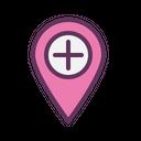Navigation Location Mark Icon