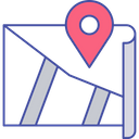 Navigation Map Map Pin Location Map Icon