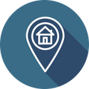 Navigation Pin Location Icon