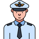 Navy Officer Icon