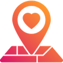 Nearby Love Navigation Location Icon