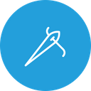 Needle Sewing Thread Icon