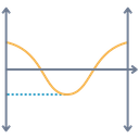 Negative Line Gaph Icon