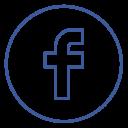 Facebook Seo Neon Icon