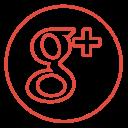 Googleplus Neon Line Icon