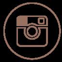 Instagram Neon Line Icon