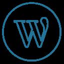 Wordpress Wp Line Icon