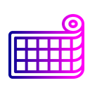 Net Blueprint Tissue Icon