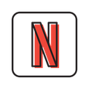 Netflix Application Website Icon