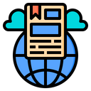 Online Document Email Icon