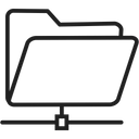Network Folder Shared Folder Folder Icon