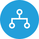 Network Security Algorithm Icon