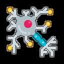 Neuron Network Medical Icon