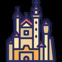 Neuschwanstein Bavaria Germany Icon