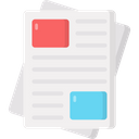 Newspaper News Article Journal Icon