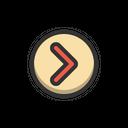 Next Button Media Icon