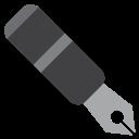 Nib Black Pen Icon